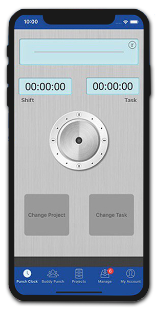 Employee Time Tracking & Project Management App | Hawk-I